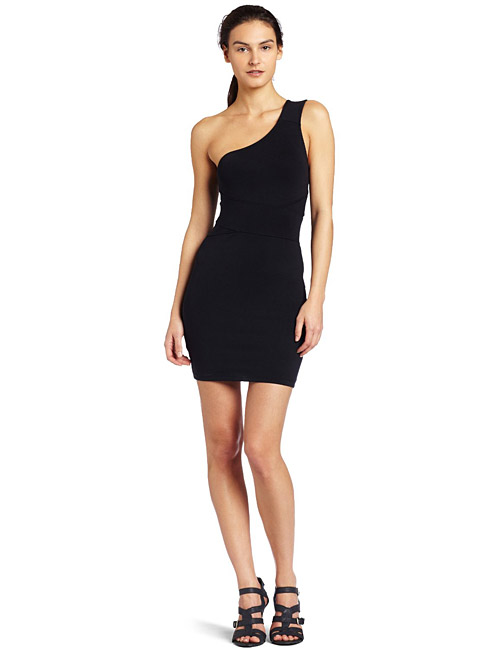David Lerner Womens Wrap Bandage Dress