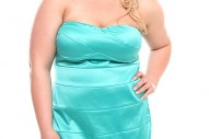 Torrid Plus Size Mint Bandage Tube Dress